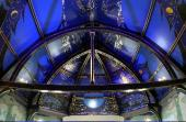 Photo: Alasdair Gray Ceiling.