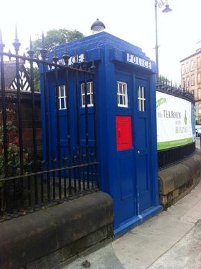 Photo: Police Box Great Western Road.