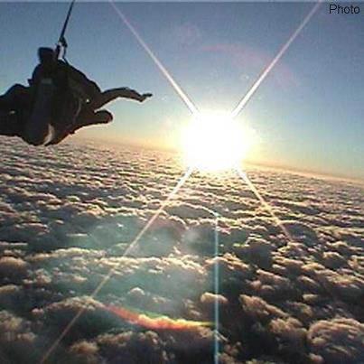 Photo: skydive.