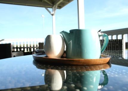 Photo: Tea by the sea.