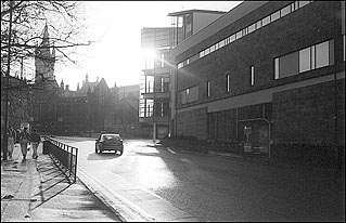 Photo: University Avenue.