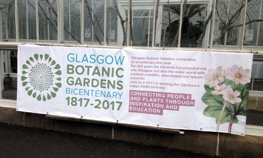<h5>Glasgow Botanic Gardens Bicentenary 1817 – 2017</h5><p>Events to celebrate the bicentenary </p>