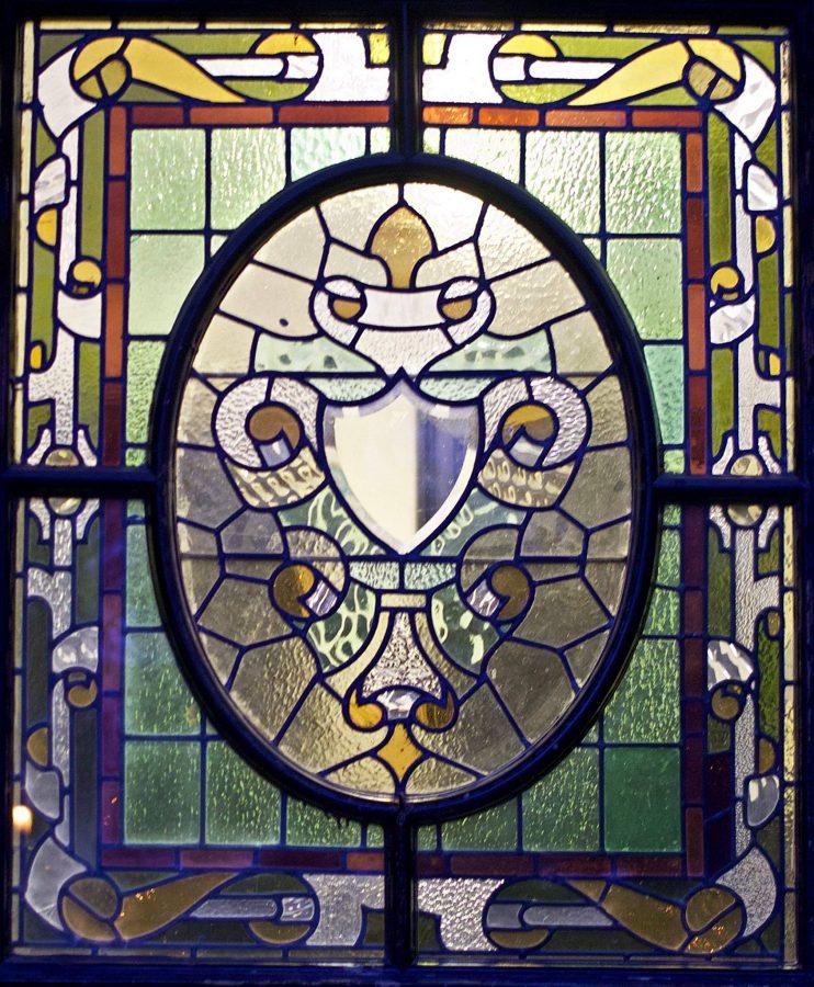 Stained Glass Door University Gardens