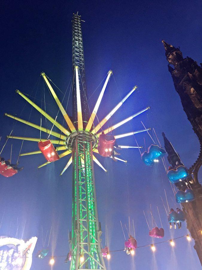 Edinburgh's Christmas shows and fun rides.