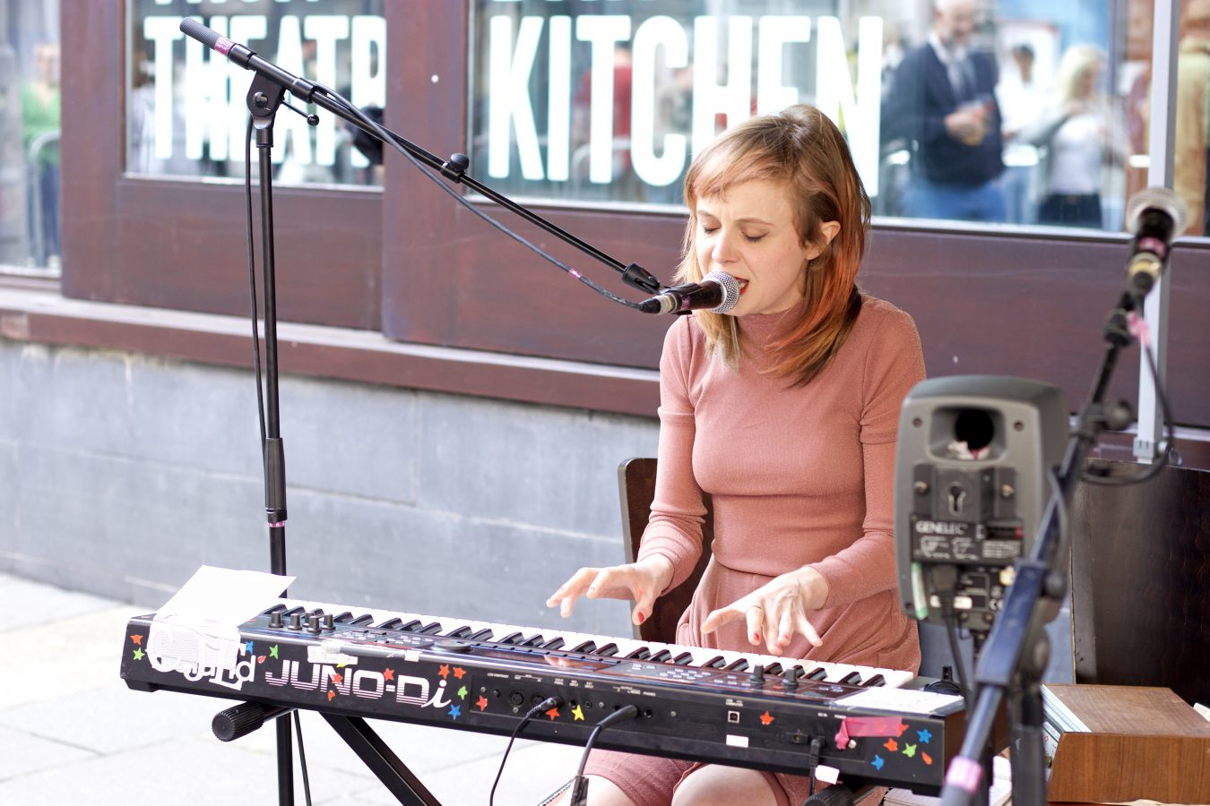 Carla J Easton at Merchant City Festival.