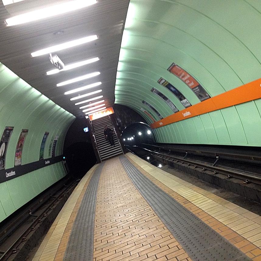 Cowcaddens Tube Station