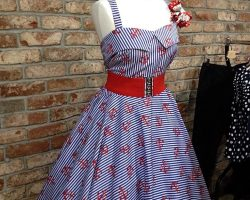 50s retro style dress
