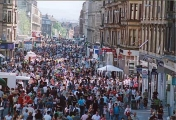 <h5>Byres Road, West End Festival Parade</h5>