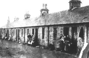 Possil Row miners' houses