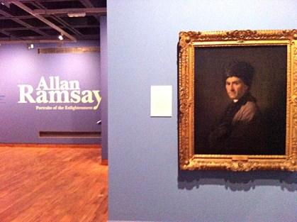Allan Ramsay Exhibition Hunterian Art Gallery
