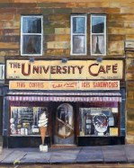 Glasgow painting and prints by Allan Richardson
