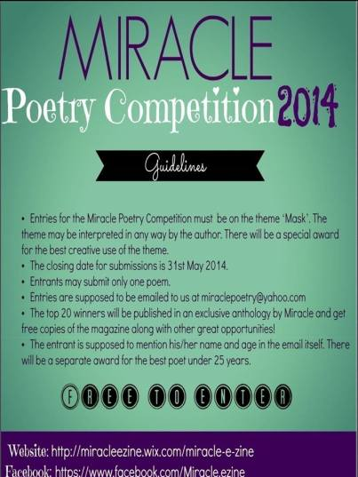 miracle poetry competition
