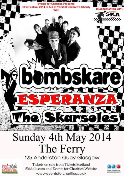 bombskare. the ferry 4th May