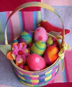 felt+egg+basket