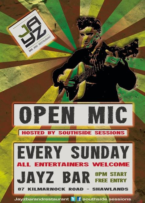 open mic jayz bar