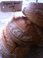 organic spelt loaf