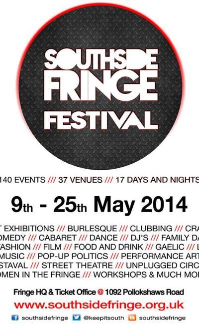 southside fringe 9 - 25 May