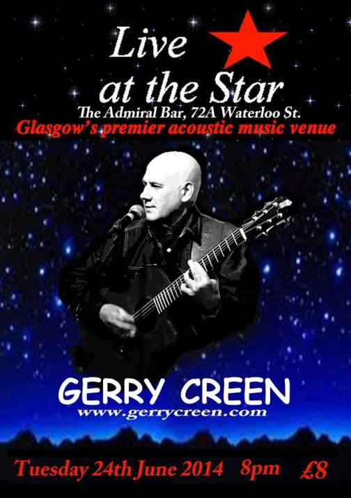 gerry crean live at the star