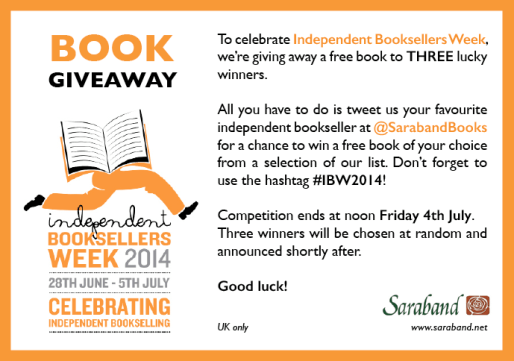 inpendent booksellers week 28 - 5 july