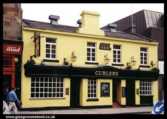 Curlers Pub, Byres Road