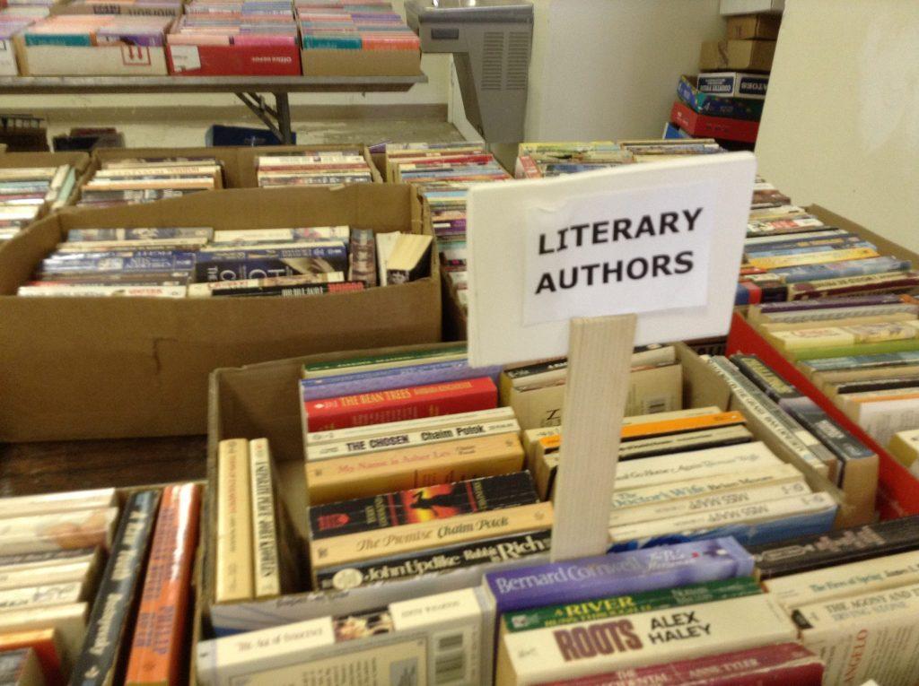 literary authors