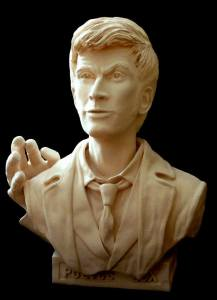 george mark sculpture of David Tennant Dr Who