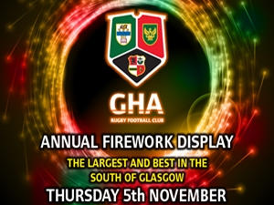 gha annual firwork display