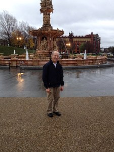 Dad at People's Palace