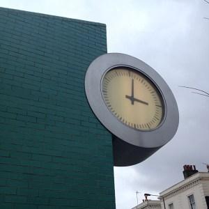 Designer Clock near Portobello
