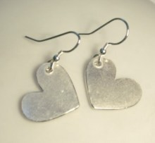genna miller heart earrings