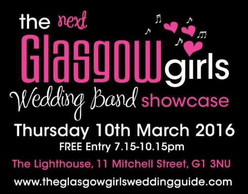the glasgow girls wedding band showcase
