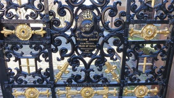 Glasgow Necropolis Entrance Gates