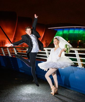 The Scottish Wedding Show 'leaps' back into Glasgow - (L-R)Mark D'Arcy and Jodi Alexander - 3