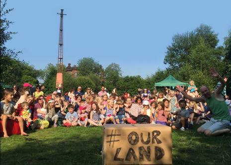 he childrens wood. our land