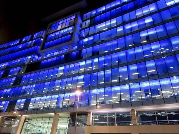 Bothwell Street Lights. Glasgow
