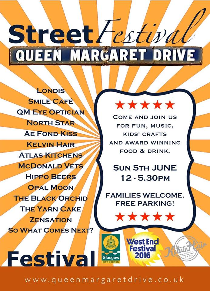 queen margaret drive st festival