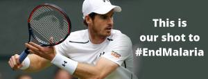 andy murray malaria no more