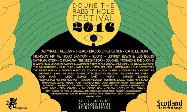 doune the rabbit hole festival 2016
