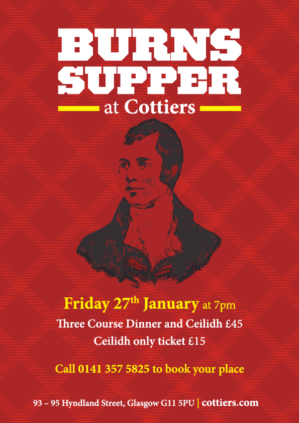 burns supper at cottiers 27 jan