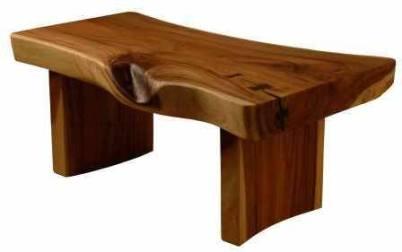 sculptural tables
