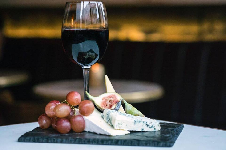 cheese and wine for charity