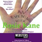evening with rosie kane