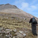The Ascent of Ruadh Stac Beag