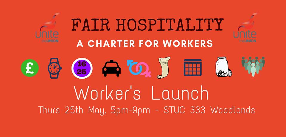 fair hospitality wrkers launch