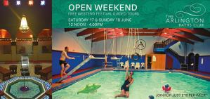 open weekend arlington baths