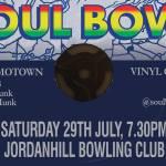 Soul Bowl, Jordanhill Bowling Club, 29 July, 2017