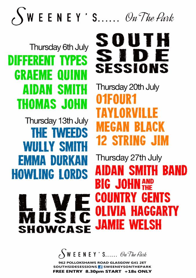 southside sessions july