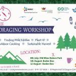 Foraging Workshop, Napiershall Street Gardens, Saturday 12 August, 2017