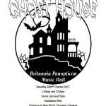Haunted Cabaret, Ghost Stories, Britannia Panopticon, Saturday 28 October, 2017