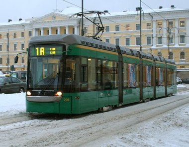 helsinki's trams and infrastucture